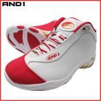 AND1 TAI CHI LX MID タイチ ミッド 1055MRY ホワイト×レッド×ゴールド バスケット シューズ バッシュ ダンス アンドワン
