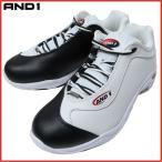 AND1 TAI CHI LOW タイチ ロー D301MWBR ホワイト×ブラック×レッド アンドワン バッシュ ダンス バスケットシューズ
