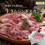 ステーキ生ラム肉 厚切り 500g バーベキューBBQや焼肉、野外で網焼きに大活躍の生羊肉。塩コショウやジンギスカンのタレに漬けて焼いて下さい