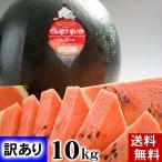 (送料無料)訳ありでんすけすいか 良〜優品 L〜2Lサイズ 6kg 北海道産デンスケスイカのわけあり品。黒い表皮の果肉、伝助・田助西瓜。(お中元ギフト)