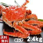 (送料無料) タラバガニ たらばがに 姿 2.5kg 中型 ボイル冷凍(ロシア産) たらば蟹贈答用のカニ姿です。かに飯や、焼きガニも美味しい。北海道グルメ