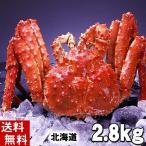 (送料無料) タラバガニ たらばがに 姿 2.8kg 中型 ボイル冷凍(北海道産) 蟹贈答用のカニ姿です