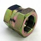 鉄製高圧継手盲栓(油止め)キャップ 104タイプ平行ガスメネジ(へっこみシート)104-12 | G3/4(mm)