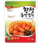[冷]ハンソン大根キムチ1kg(韓国産)(熟成:鍋・炒め用)/韓国キムチ/大根キムチ