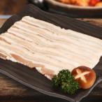 [凍]豚の皮付きバラ肉スライス約1kg(厚さ5mm)-メキシコ産/韓国焼肉/BBQ