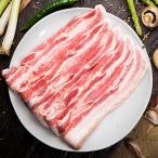 [凍]豚バラ肉スライス5mm 約1kg-イタリア産/韓国焼肉/BBQ