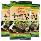 オリーブ油お弁当用海苔1袋(8枚×3)/韓国海苔/味付け海苔/韓国食品