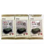 [1円イベント]ヒョソンお弁当用海苔(9切Х10枚Х3パック)/韓国海苔/味付海苔