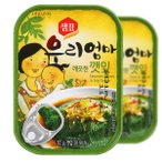 エゴマの葉缶詰70g/韓国缶詰/韓国えごま缶詰