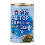つぶ貝缶詰(自然産)400g/韓国缶詰/韓国つぶ貝缶詰