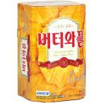 【1円イベント】バターワッフル/韓国お菓子/※箱破損で中身割れも有
