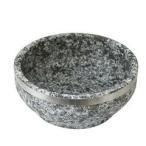 【使用方法必確認】高級石焼ビビンパ鍋のみ-外径19cm(中国産)/韓国石鍋/韓国石焼ビビンバ