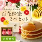 母の日 ギフト 国産百花蜂蜜2本セット 500g×2本 蜂蜜 はちみつ 国産 プレゼント 贈り物 蜂蜜専門店 かの蜂