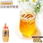セール 国産蜂蜜500g(とんがり容器)国産純粋はちみつ 国産はちみつ 蜂蜜専門店 かの蜂