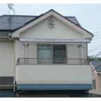 アルミテラス屋根 ヴェクター躯体式バルコニー 屋根 アール 600N 2間3尺セット ykkap エクステリア