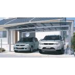 エクステリアカーポート 2台用 マイリッシュワイド 駐車場の屋根 5154H2200 基本 熱線遮断