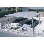 カーポート 2台用 三協立山 マイリッシュワイド 駐車場の屋根 5851H2500 基本 熱線遮断