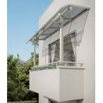 ベランダ 屋根(テラス屋根) ヴェクター躯体式バルコニー 屋根 アール 600N 1間3尺セット ykkap エクステリア