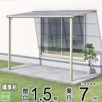 アルミテラス屋根 メニーウェルA テラス屋根 F1NA型 1.5間8尺 エクステリア 三協立山アルミ