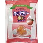 かんてんぱぱ カップゼリー80℃ ピーチ味 (約6人分X5袋入)