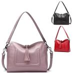 Yahoo!ファッション雑貨のFUKU新商品!ショルダーバッグ ハンドバッグ 本牛革 贅沢  女性 ギフト バッグ 鞄 フォーマル パーティーバッグ オイルレザー 革 バッグ バレンタイン