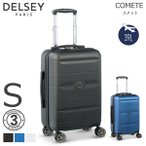 DELSEY デルセー スーツ ケース 機内持ち込み キャリーケース Sサイズ 出張 旅行 コンパクト 小さめ 39L ABS&PC素材 軽量 TSAロック搭載 COMETE 003039801