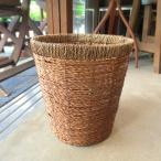バスケット鉢カバー(ライトブラウン)8号鉢サイズ 観葉植物 花鉢 プレゼント ギフト 誕生日 開店祝い 鉢かご 鉢カゴ