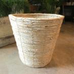 バスケット鉢カバー(ナチュラル)8号鉢サイズ 観葉植物 花鉢 プレゼント ギフト 誕生日 開店祝い 鉢かご 鉢カゴ
