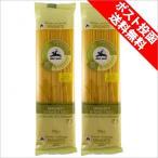 パスタ 送料無料 メール便 ゆうパケット 2袋セット 有機グルテンフリー スパゲッティ 1.6mm アルチェネロ 250g×2 小麦粉不使用 乾燥ロングパスタ ポイント消化