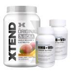 【超お得セット】[大容量約1.2kg]エクステンド(BCAA+Lグルタミン+シトルリン)※マンゴー(1個)&HMB+VD3(2個)