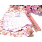 練り香水「桜」と桜ハンカチ 桜スプーンギフトセット