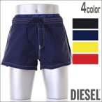 DIESEL (ディーゼル) メンズ ショートパンツ型スイムウェア ボードショーツ スイムパンツ メンズ水着 男性水着