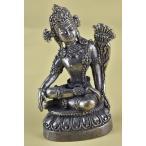 インドラ(帝釈天) ミニメタル仏像 【送料無料】