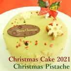 送料無料 クリスマスケーキ クリスマスピスターシュ15cm ピスタチオとチョコレート 苺 予約 2〜4人分 早割