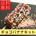 お家で簡単屋台のチョコバナナハーフサイズキット30本分 チョコレート お祭り