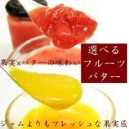 果実感溢れる選べるフルーツバター140g  苺 マンゴー ブルーベリー 塩バターミルク はちみつレモン ギフト プレゼント