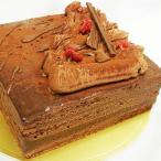 送料無料 スイートミルク生チョコレートケーキ18cm チョコレートケーキ バースデー 四角 バレンタイン ホワイトデー
