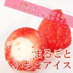 個包装苺と練乳ミルクの 苺アイス 1個 シャーベット