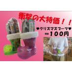 大きめブーツが衝撃の100円! 税別100円クリスマスブーツお菓子詰め合わせセット! 人気のお菓子5点詰め合わせ!