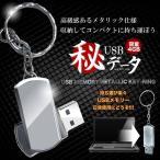丸秘 USB フラッシュメモリ 4GB 写真 動画 金属ボディ 収納 コンパクト 持ち運び キーホルダー KZ-MARUHI  即納