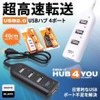 USB 2.0 ハブ 4 ポート インターフェイス たこ足  KZ-HUB4 予約