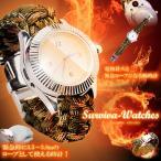 パラコード搭載 電熱式 シガー 腕時計 タバコ 緊急ロープ 高級デザイン 着火 ライター 即納-SAVAIVA