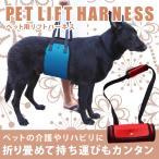 犬用 リフトハーネス ケガ ペットのリハビリ 介護 サポート 脱着 簡単 折畳み 持ち運び コンパクト KZ-DGHARNESS 予約