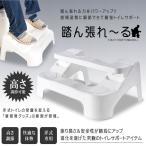 踏ん張れ〜る トイレ 踏み台 高さ調節可能 安全 補助 大人 子供  トレーニング 滑り止め 改良版 便所 腹痛 KZ-FUNBARELL 即納