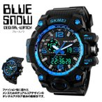 其它 - ブルースノウ 腕時計 高級感 デジタル ウォッチ クロック デジタル 防水 スポーツ メンズ BLUESNOW 即納