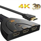 HDMI切替器  1080P/3D対応 ハイビジョンオーディオ 3入力1出力HDDレコーダー、PC、PS3、Xbox、AppleTV ゲーム対応 HDMI-SEPA