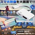 エアージャック HDMI 充電 ケーブル iPhone iPad 高画質 プロジェクター テレビ 大画面 持ち運び AIRJACK