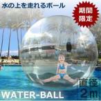 ウォーターボール テラスハウス 直径2m 巨大 水上 歩く 昼寝 リラックス レース イベント アクアボール ビッグ ジャンボ 大型 特大 大きい KZ-AQUABALL 即納