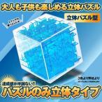 パズル 立体パズルタイプ 3D 迷路 立体迷路 暇つぶし キューブ 密閉安全 迷路 ゲーム こども 脳トレ 知育 PAZUP-RI