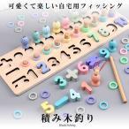 積み木 釣り 教具 おもちゃ 学習玩具  数字 ゲーム 木製パズル 型はめ 想像力 創造力 形認識力 集中力 数学力 TUMITRI